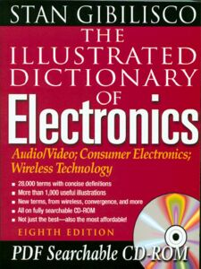 Ebook in inglese The Illustrated Dictionary of Electronics Gibilisco, Stan