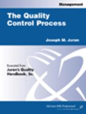 The Quality Control Process