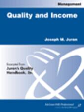 Quality and Income