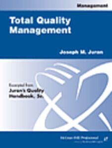 Ebook in inglese Total Quality Management Juran, Joseph M.