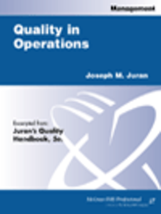 Ebook in inglese Quality in Operations Juran, Joseph M.