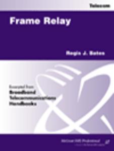 Ebook in inglese Frame Relay Bates, Regis J.