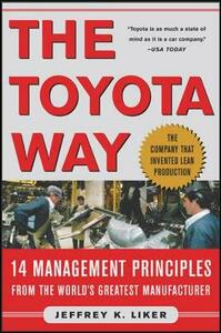 The Toyota Way - Jeffrey K. Liker - cover
