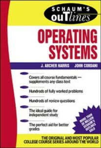 Ebook in inglese Schaum's Outline of Operating Systems Harris, J. Archer