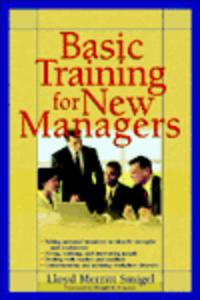 Ebook in inglese Basic Training For New Managers Smigel, Lloyd Merritt