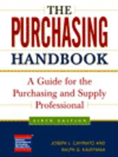 The Purchasing Handbook
