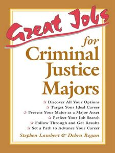 Ebook in inglese Great Jobs for Criminal Justice Majors Lambert, Stephen