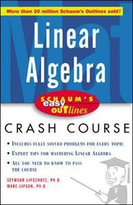 Schaum's Easy Outline of Linear Algebra - Seymour Lipschutz,Marc Lipson - cover