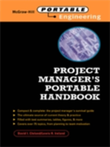 Ebook in inglese Project Manager's Portable Handbook Cleland, David , Ireland, Lewis
