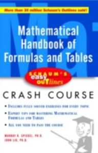 Ebook in inglese Schaum's Easy Outline of Mathematical Handbook of Formulas and Tables Liu, John , Spiegel, Murray