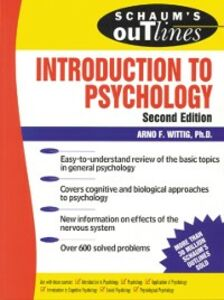 Ebook in inglese Schaum's Outline of Introduction to Psychology Wittig, Arno