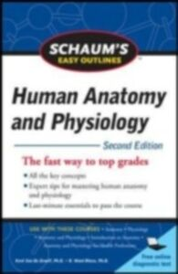 Ebook in inglese Schaum's Easy Outline of Human Anatomy and Physiology Graaff, Kent Van De , Rhees, R. Ward