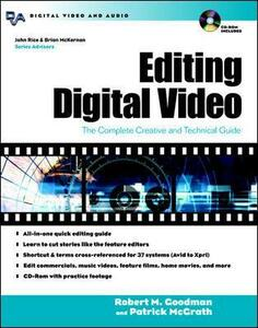 Editing Digital Video - Robert M. Goodman,Patrick McGrath - cover