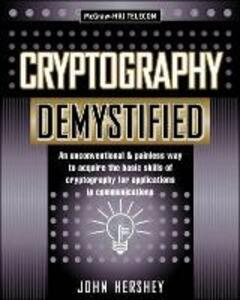 Cryptography Demystified - John Hershey - cover