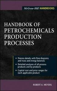 Handbook of Petrochemicals Production Processes - Robert A. Meyers - cover