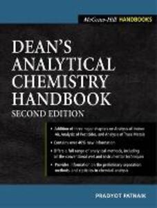 Dean's Analytical Chemistry Handbook - Pradyot Patnaik - cover