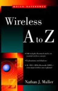 Wireless A to Z - Nathan J. Muller - cover