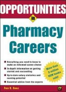 Opportunties in Pharmacy Careers - Fred B. Gable - cover