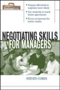 Ebook in inglese Negotiating Skills for Managers Cohen, Steven