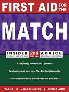 Ebook in inglese First Aid for the® Match Amin, Chirag , Bhushan, Vikas , Le, Tao