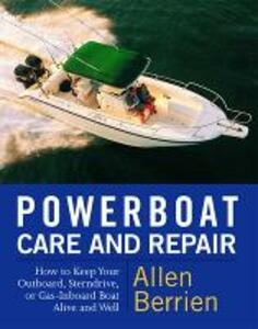 Powerboat Care and Repair - Allen Berrien - cover