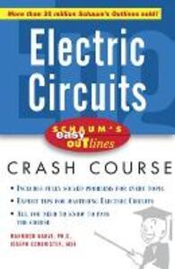 Schaum's Easy Outline of Electric Circuits - Joseph Edminister,Mahmood Nahvi - cover