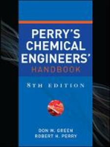 Libro Perry's chemical engineer's handbook Don Green , Robert Perry