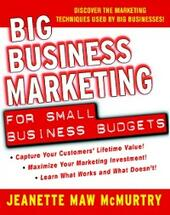 Big Business Marketing For Small Business Budgets