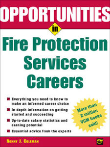 Ebook in inglese Opportunities in Fire Protection Services Careers Coleman, Ronny J.