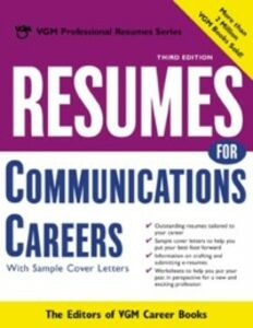 Foto Cover di Resumes for Communications Careers, Ebook inglese di Editors of VGM Career Books, edito da McGraw-Hill Education