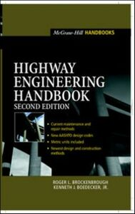 Ebook in inglese Highway Engineering Handbook, 2e Brockenbrough, Roger , Jr., Boedecker