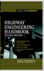 Ebook in inglese Highway Engineering Handbook, 2e Brockenbrough, Roger , Jr., Boedecker