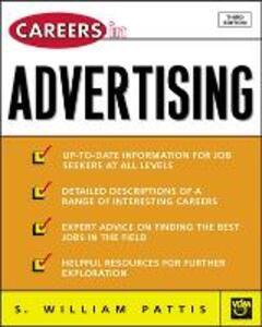Careers in Advertising - S. William Pattis - cover