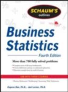 Ebook in inglese Schaum's Outline of Business Statistics Kazmier, Leonard