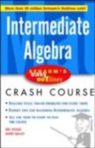 Ebook in inglese Schaum's Easy Outline Intermediate Algebra Bailey, Kerry , Steege, Ray