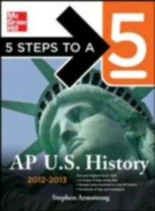 Ebook in inglese 5 Steps to a 5 AP U.S. History Armstrong, Stephen