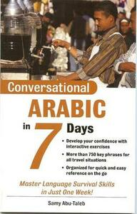 Conversational Arabic in 7 Days Package (Book + 2cds) - Samy Abu-Taleb - cover