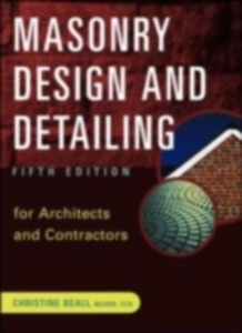 Ebook in inglese Masonry Design and Detailing Beall, Christine