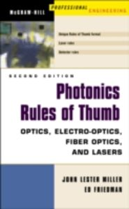 Ebook in inglese Photonics Rules of Thumb Friedman, Ed , Miller, John