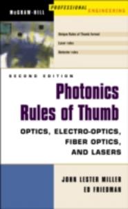 Ebook in inglese Photonics Rules of Thumb Friedman, Ed , Miller, John