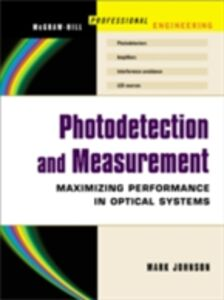 Ebook in inglese Photodetection and Measurement Johnson, Mark