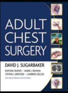 Adult chest surgery - copertina