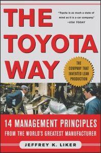 Foto Cover di Toyota Way, Ebook inglese di Jeffrey K. Liker, edito da McGraw-Hill Education