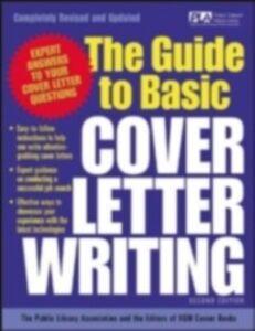 Foto Cover di Guide to Basic Cover Letter Writing, Ebook inglese di Editors of VGM, edito da McGraw-Hill Education