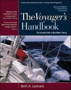 The Voyager's Handbook: The Essential Guide to Blue Water Cruising - Beth A. Leonard - cover