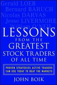 Lessons from the Greatest Stock Traders of All Time - John Boik - cover