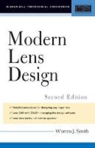 Modern Lens Design - Warren J. Smith - cover