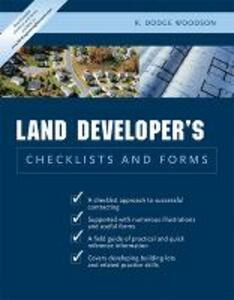 Residential Land Developer's Checklists and Forms - R. Dodge Woodson - cover