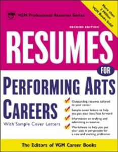 Ebook in inglese Resumes for Performing Arts Careers Books, Editors of VGM Career