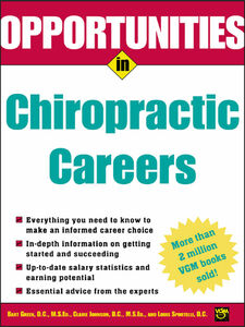 Ebook in inglese Opportunities in Chiropractic Careers Green, Bart , Johnson, Claire , Sportelli, Louis